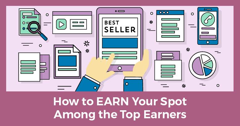 Earn a place among network marketing top earners