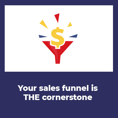 marketing on the internet with sales funnels the funnel is THE cornerstone